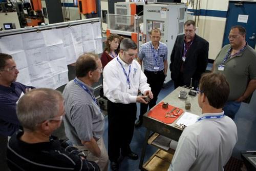 AMBA plant tour workshop