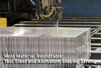ALCOA aluminium mold plate