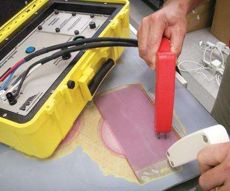 Checking the conductivity of the repaired LSP system with a milliohm meter is crucial. Source: FlightSafety Int'l