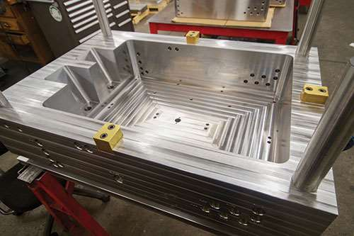 cavity side mold base