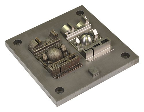 laser sintering milling
