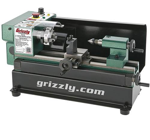 Grizzly G0745 Micro Metal benchtop manual lathe