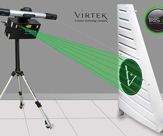virtek spatitial positioning system