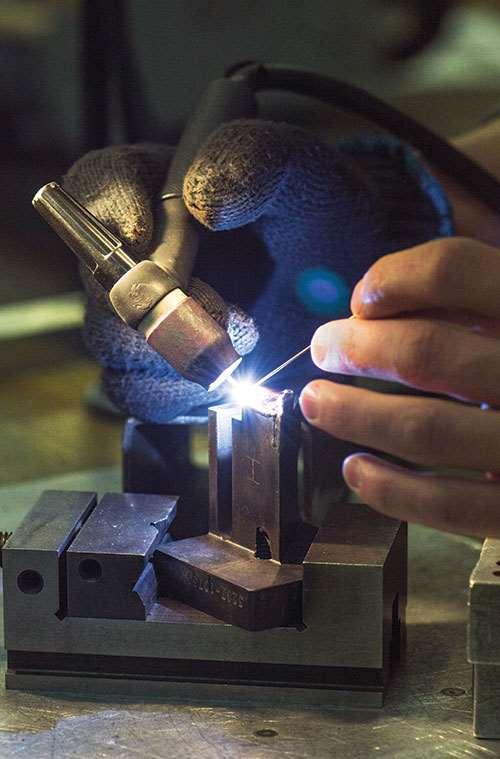 micro-TIG welding
