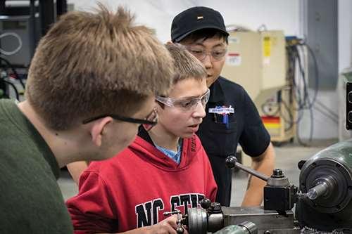 NCTAP apprentices