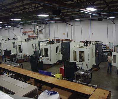 HMCs in machine shop