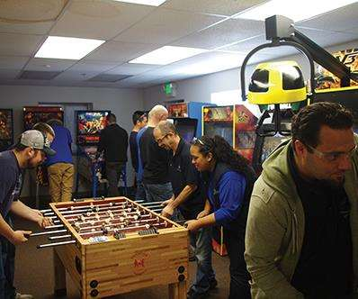 employee game room