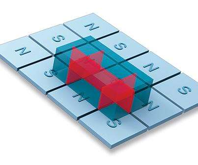 square pold milling magnet