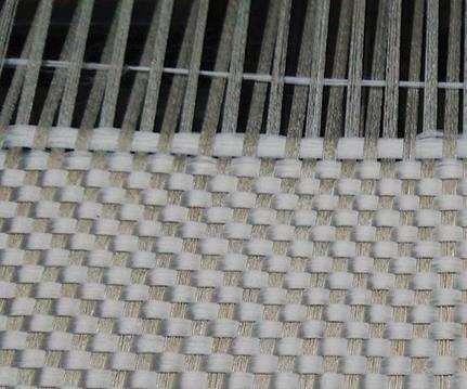 Continuous-fiber woven natural fabrics