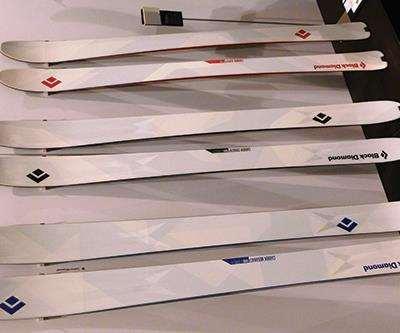 Flax/balsa-cored high-performance carbon fiber composite skis