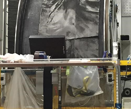 carbon fiber fan case for the GEnx