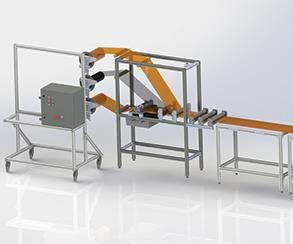 inline prepreg (InPreg) production method