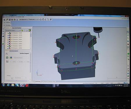 screenshot of CAD software