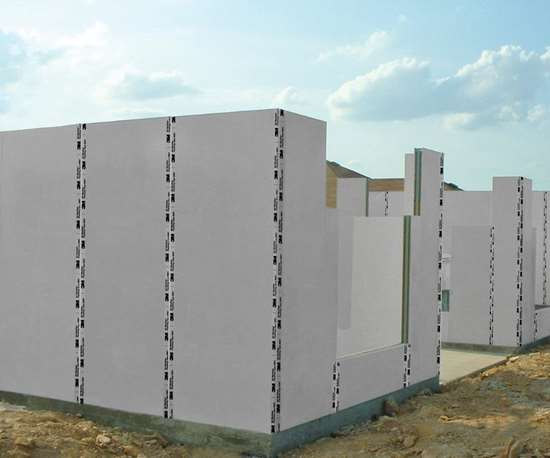 Composite Panel Building System's C-SIP wall system