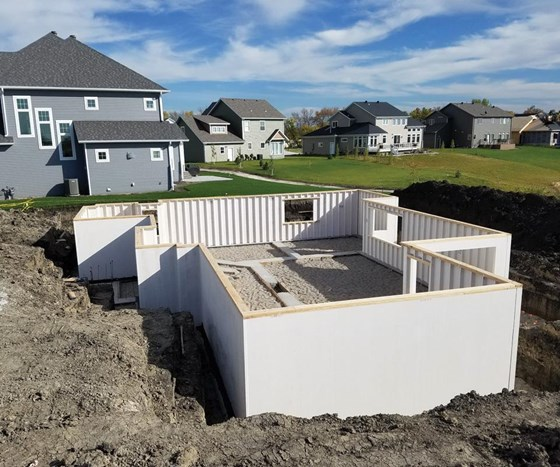 Composites for builders establishing structural for Foundations for homes