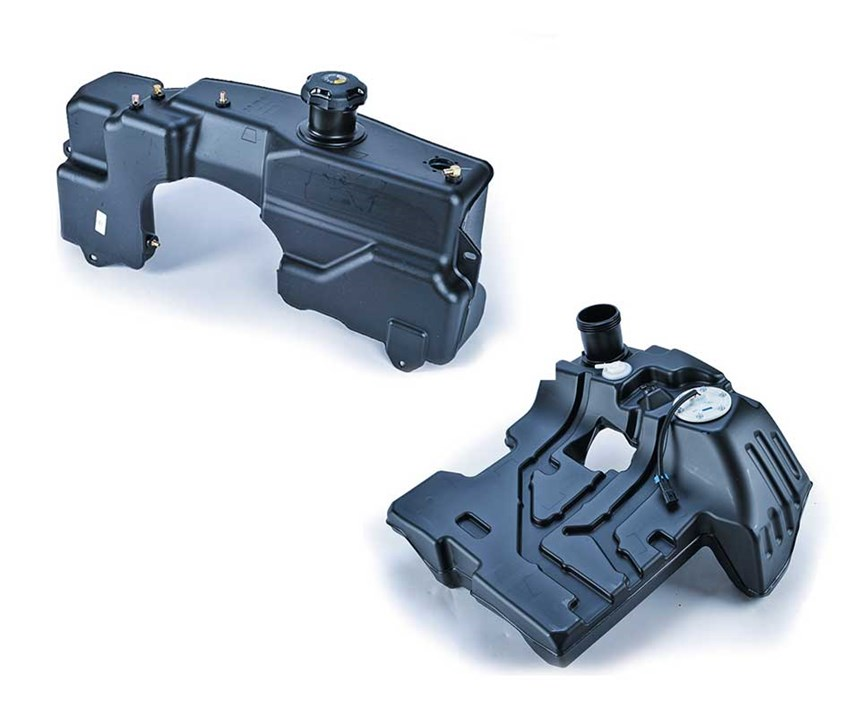 coex blow molded plastic fuel tanks
