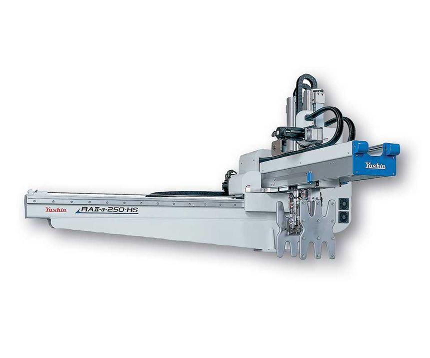 double main arm cartesian robot