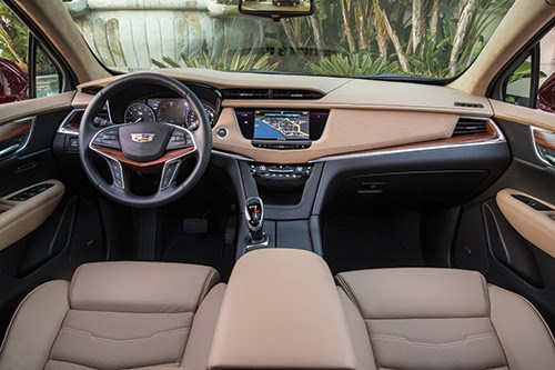 The roomier interior features an upgraded infotainment system and premium materials.