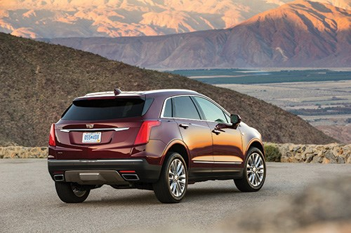 """""""The XT5 has a great stance, with wheels further to the corners and overhangs reduced,"""" says  Andrew Smith, Cadillac  executive director  of global design."""