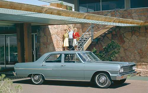 This is where it began: the 1964 Malibu.