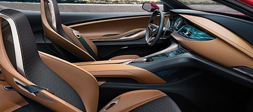 Inside the Avista there is a combination of richness and technicality.