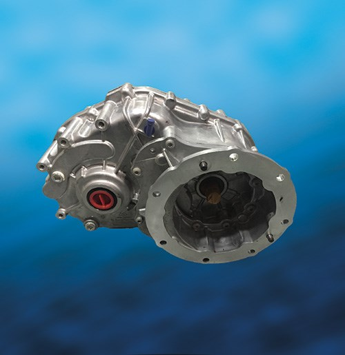 A transmission for electric vehicles, the eGearDrive, from BorgWarner, is scalable and helps provide greater vehicular efficiency.