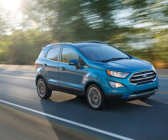 2018 Ford EcoSport will have its U.S. launch in early 2018.