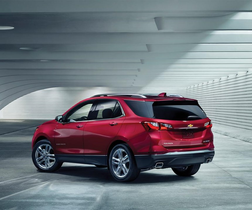 The 2018 Equinox is the third generation of the compact crossover.
