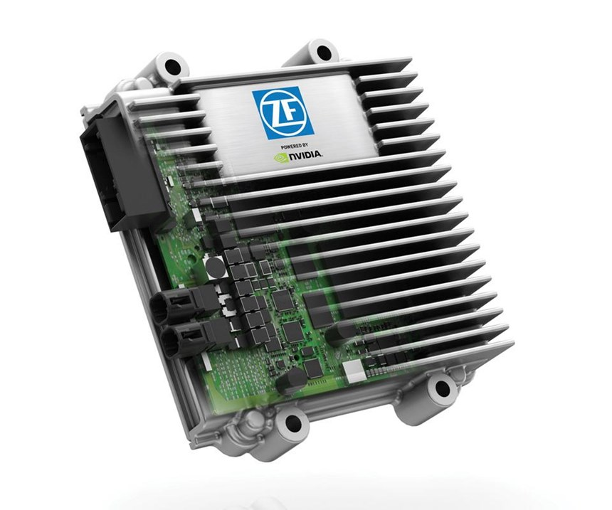 The ZF ProAI system for autonomous driving is based on an NVIDIA processor.