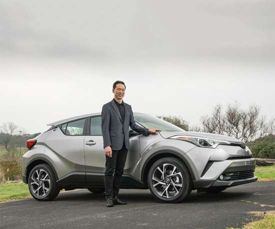 Top engineer on the C-HR, Hiroyuki Koba, wanted to make sure that the small crossover had spirited driving characteristics, so he took it to the Nürburgring Nordschleife and drove it. (Yes, he's a driving enthusiast.)