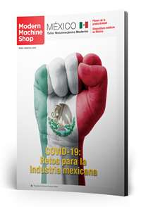 Mayo Modern Machine Shop México número de revista