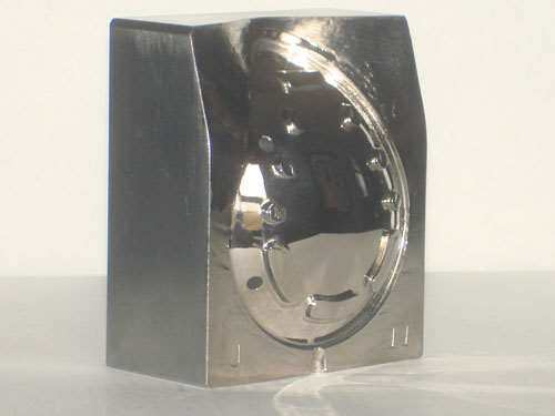 highly polished mold surfaces