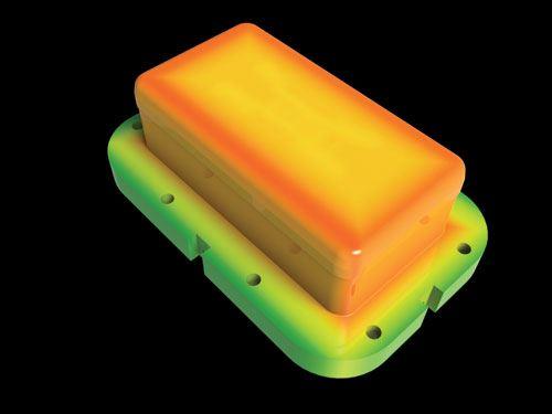 simulated mold image