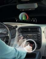 Proximity sensors BMW iDrive