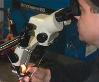 Micro welding process