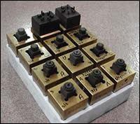 High accuracy gear electrodes