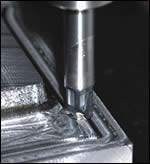 Ingersoll high-feed bull nose cutter