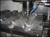 Industrial rubber mold
