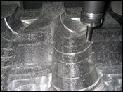 Industrial rubber mold used in the automotive industry