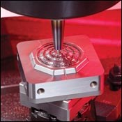 Machining a micro-mold