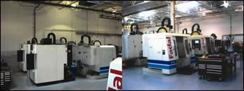 Elite Mold's high-speed Makino and Fadal CNCs