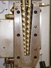 Notched Twin-Screws Exfoliate Nanoclays