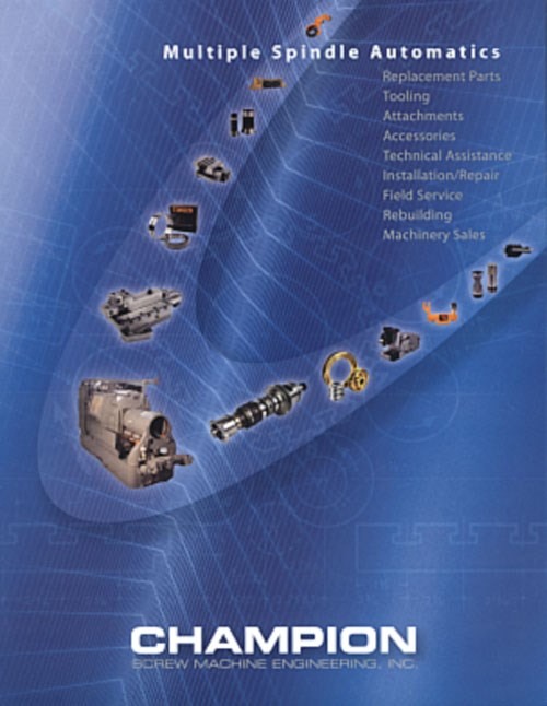 Champion Screw Machine brochure