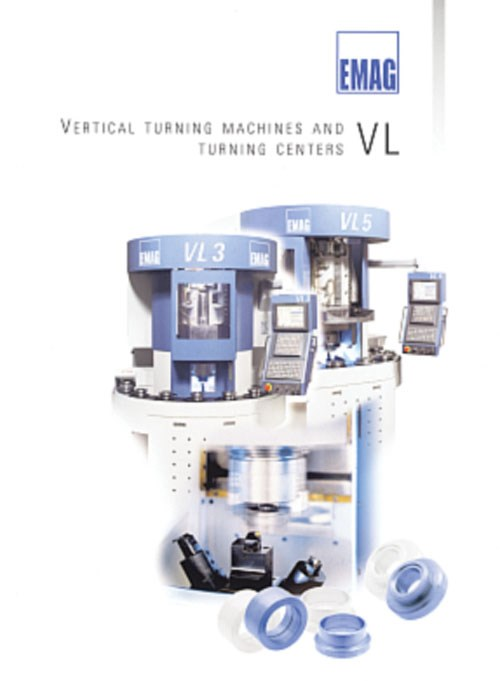 Emag Vertical Turning Machine brochure