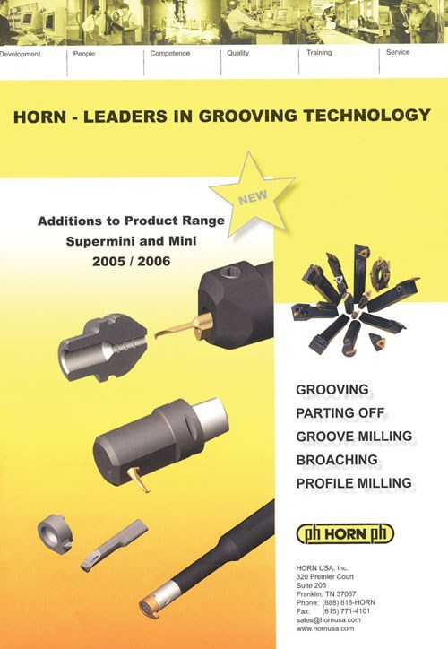 Horn USA Grooving catalog