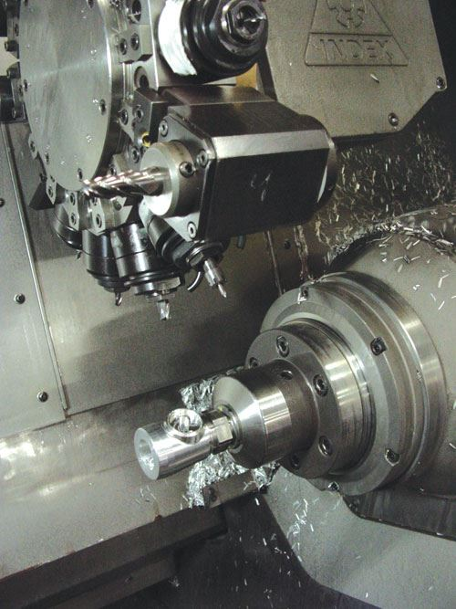 scope bodies being machined