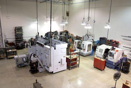 Mori machines in shop