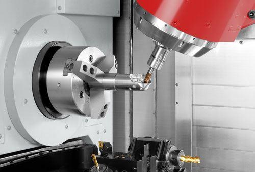 Mori milling operation