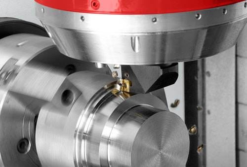 Turning with milling spindle