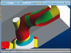 screenshot of helical twist